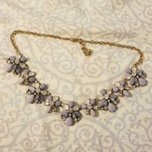 NWOT Periwinkle statement necklace